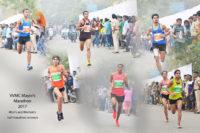 VVMC Mayor's Marathon 2017 Men's and Women's half marathon winners