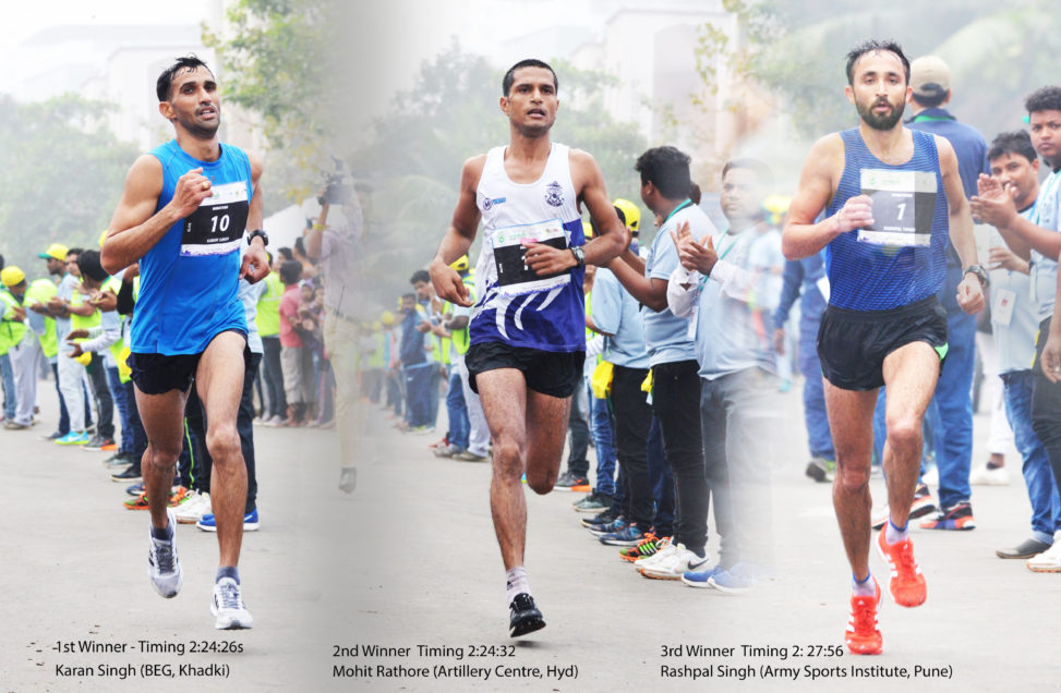 winner of the men's full marathon of Vasai-Virar Mayor's Marathon 2017