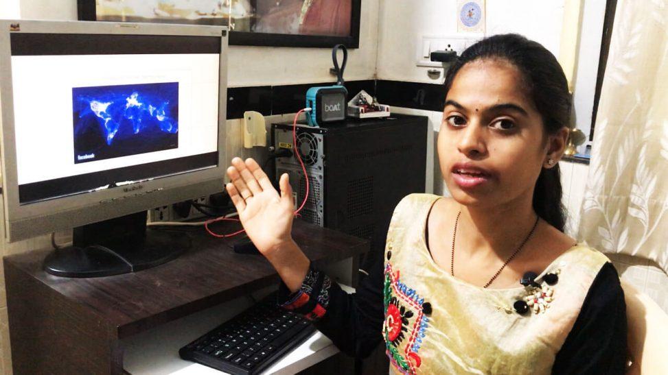 Harshali Mankar - Professor in viva college at virar