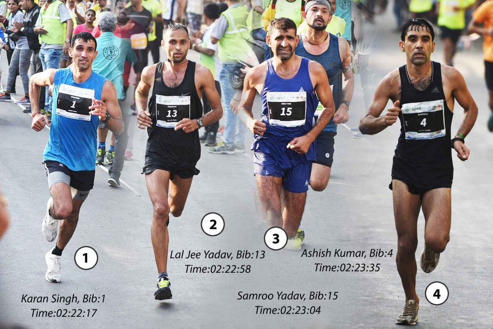 Vasai-Virar Marathon 2018 Winners