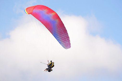 Paragliding at pokhara nepal