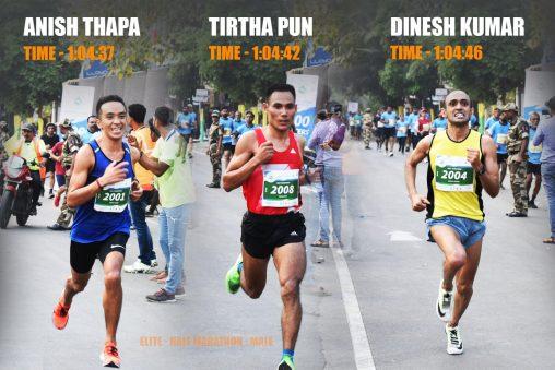Elite - Vasai-Virar Half Marathon 2019 - Male